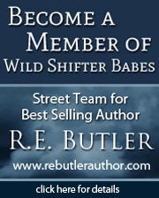 Become a member of RE Butler's Wild Shifter Babes Street Team